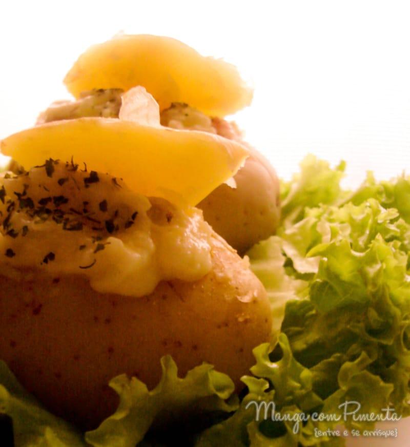 Batatas recheadas {Comfort Food}