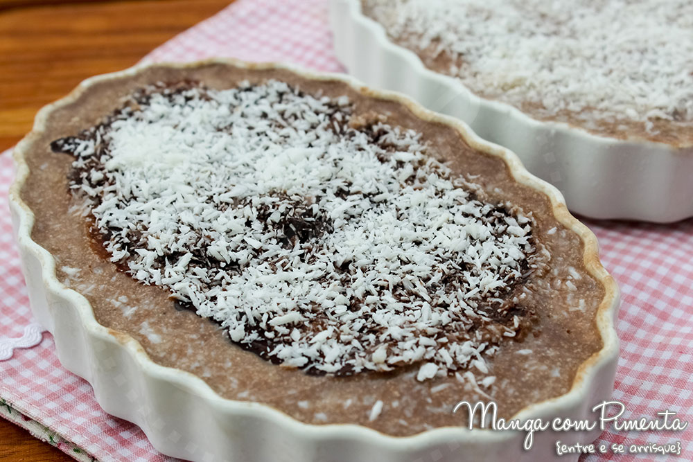 Receita de Pudim de Chocolate com Coco - Youtube
