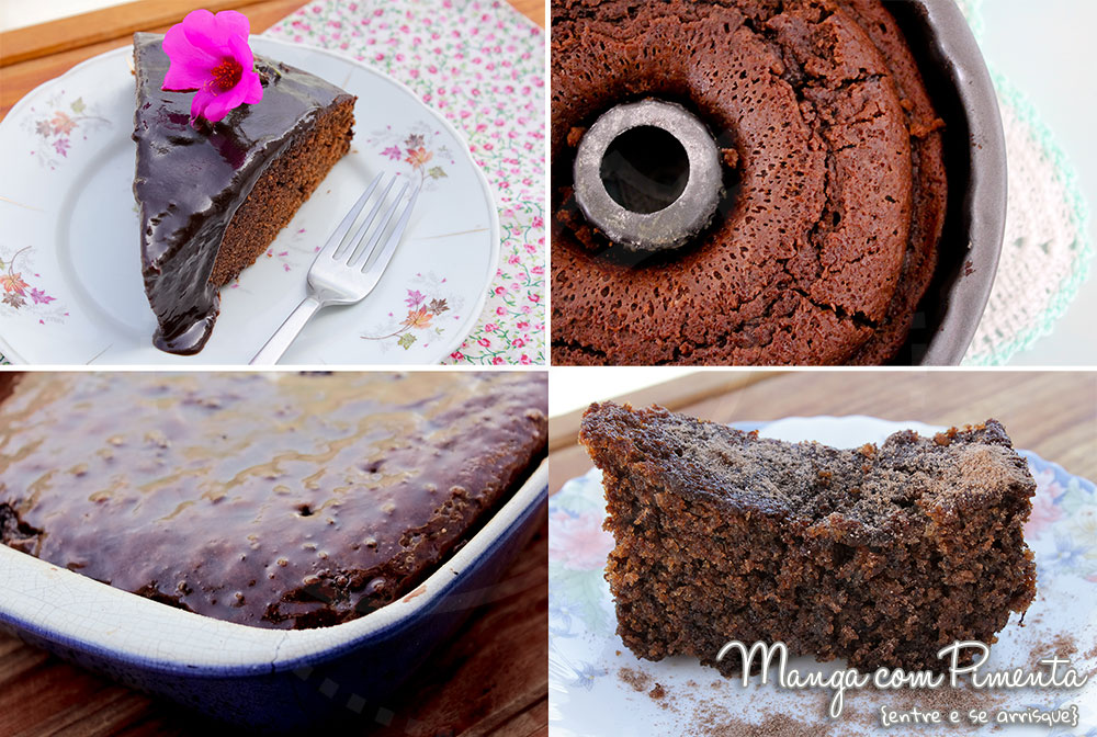 Cinco Receitas de Bolos de Chocolate para o Final de Semana